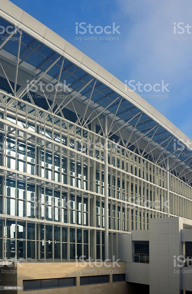 Brunei International Airport, Bandar Seri Begawan stock photo