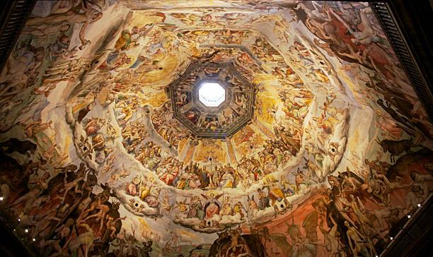 Der Kuppel von Brunelleschi, Florenz, Italien Dom – Foto