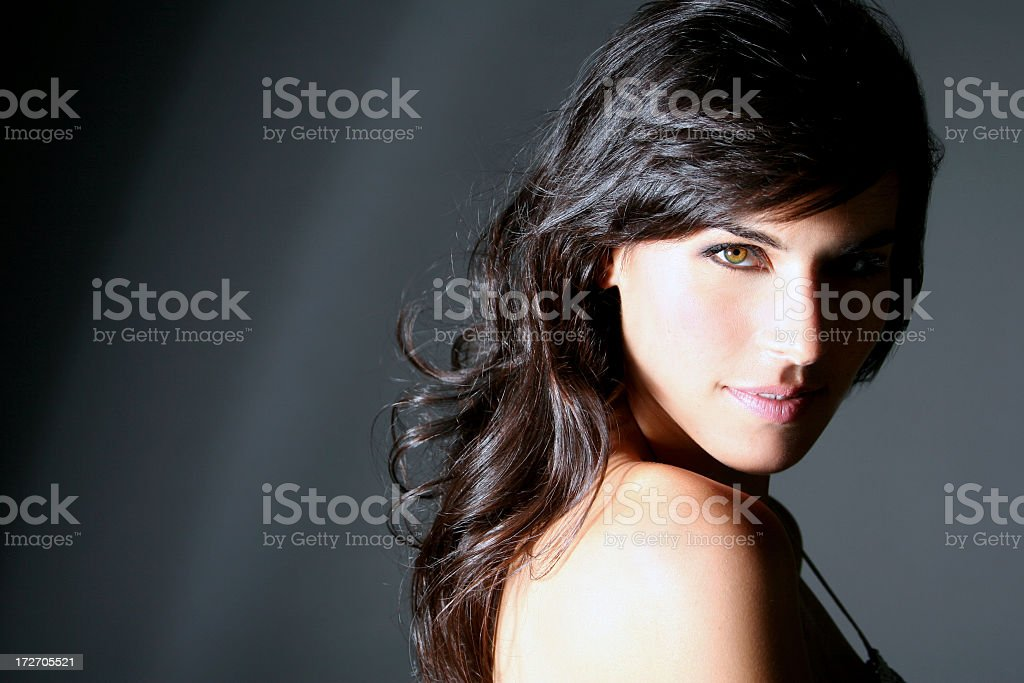 Brunette Beauty royalty-free stock photo