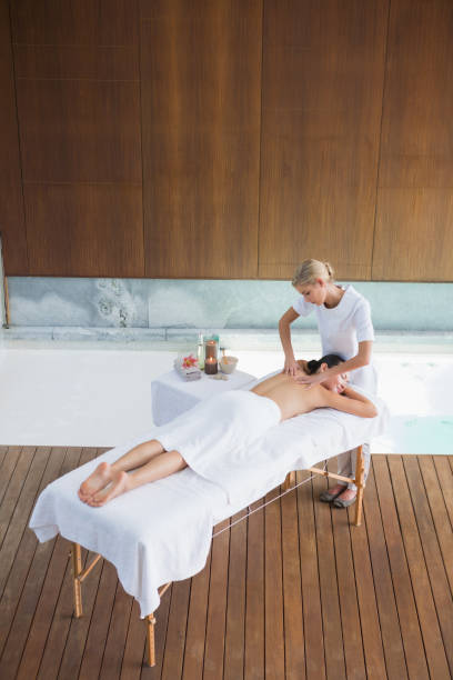 Best Full Body Massage Stock Photos, Pictures & Royalty