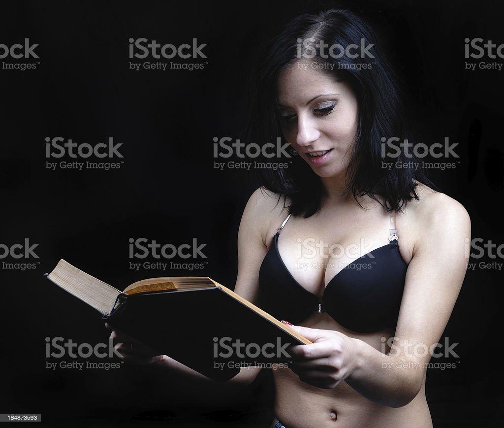 Hot tan naked brunette