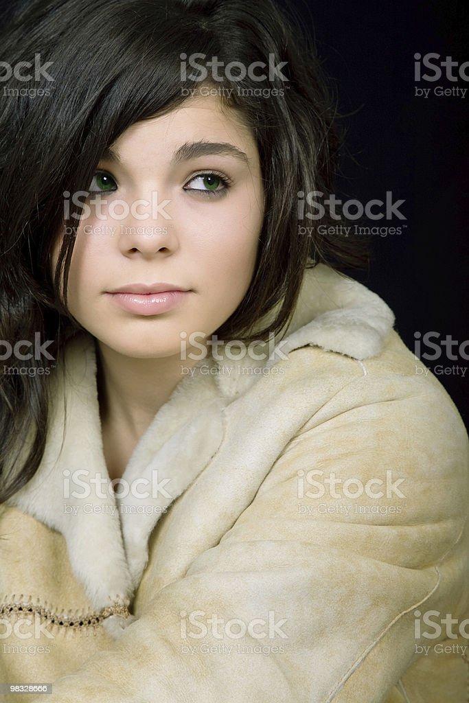 brunette foto stock royalty-free