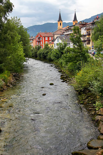 Brunico In South Tyrol Brunico In South Tyrol bruneck stock pictures, royalty-free photos & images