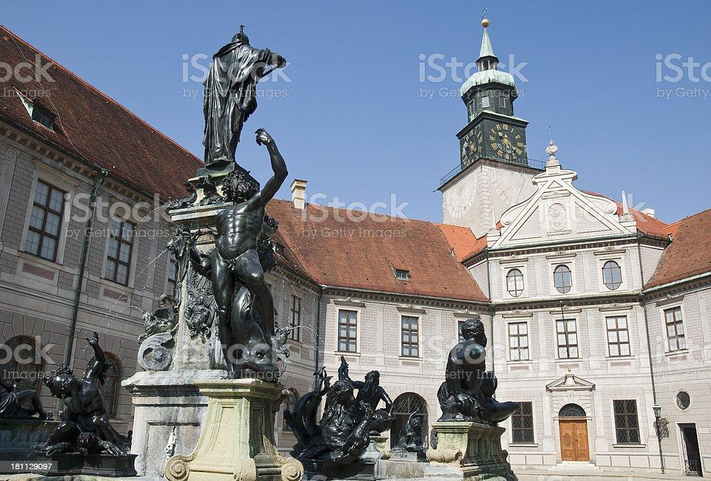 Brunnenhof, Munich royalty-free stock photo