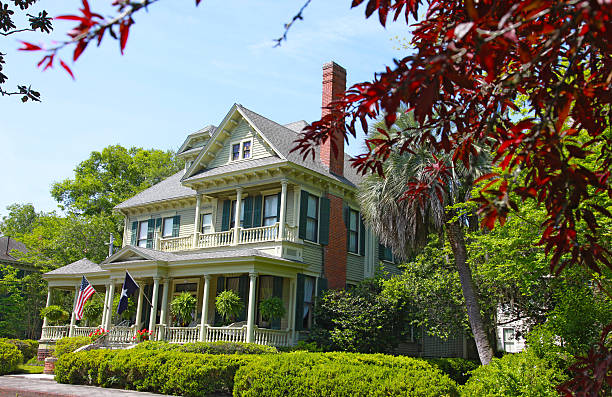 Brunswick Home stock photo
