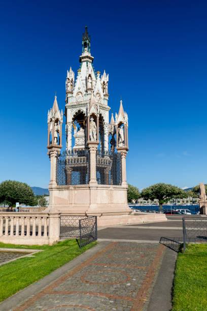 Brunswick monument in Geneva, Switzerland stock photo