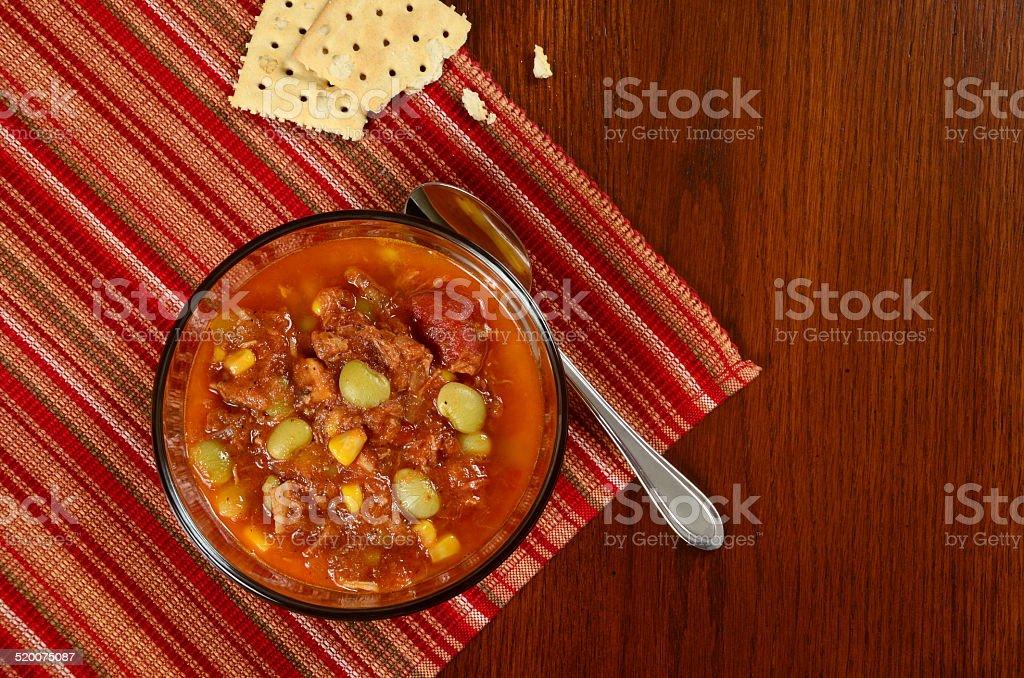 Brunswick Stew stock photo