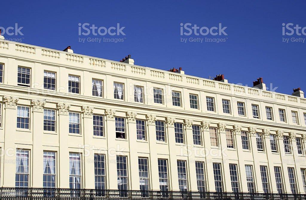 Brunswick Terrace stock photo