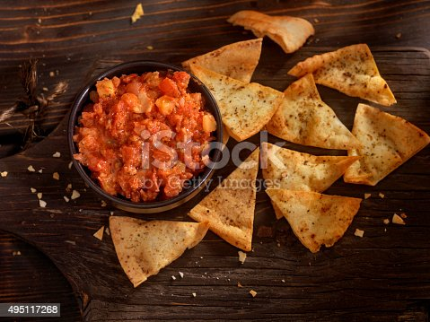 Bruschetta with Pita Chips