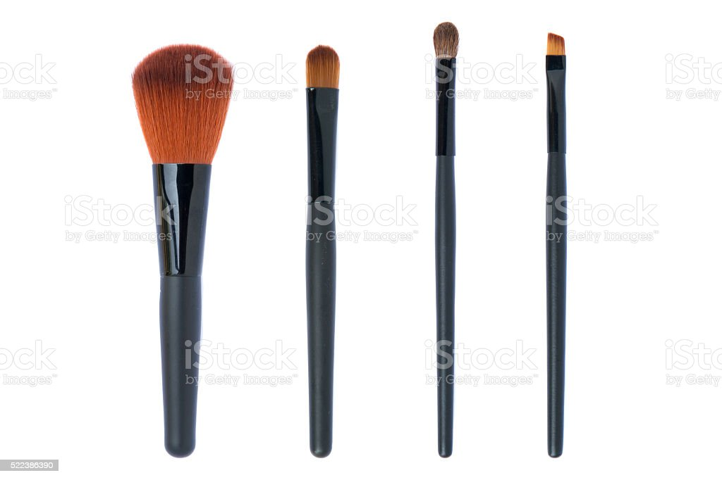 Cepillo cosmético - foto de stock