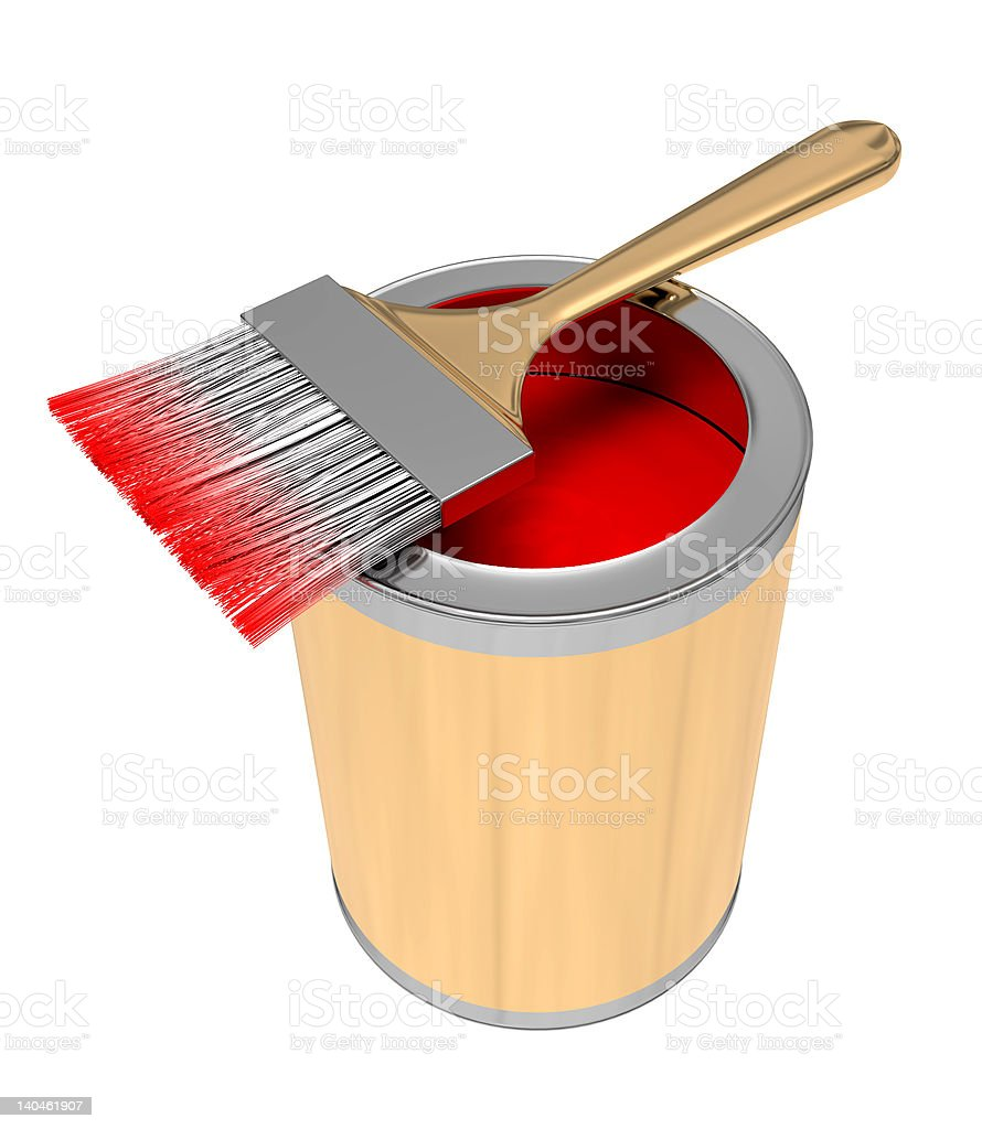 brush for painting royalty-free stock photo
