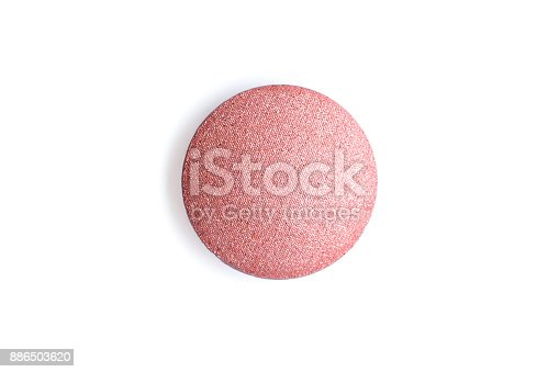 istock Brush isolated on a white background. Top view. 886503620