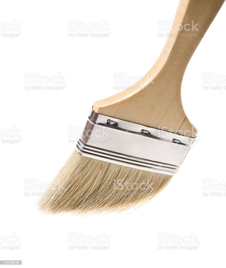 brush isolated on white background royalty-free stock photo