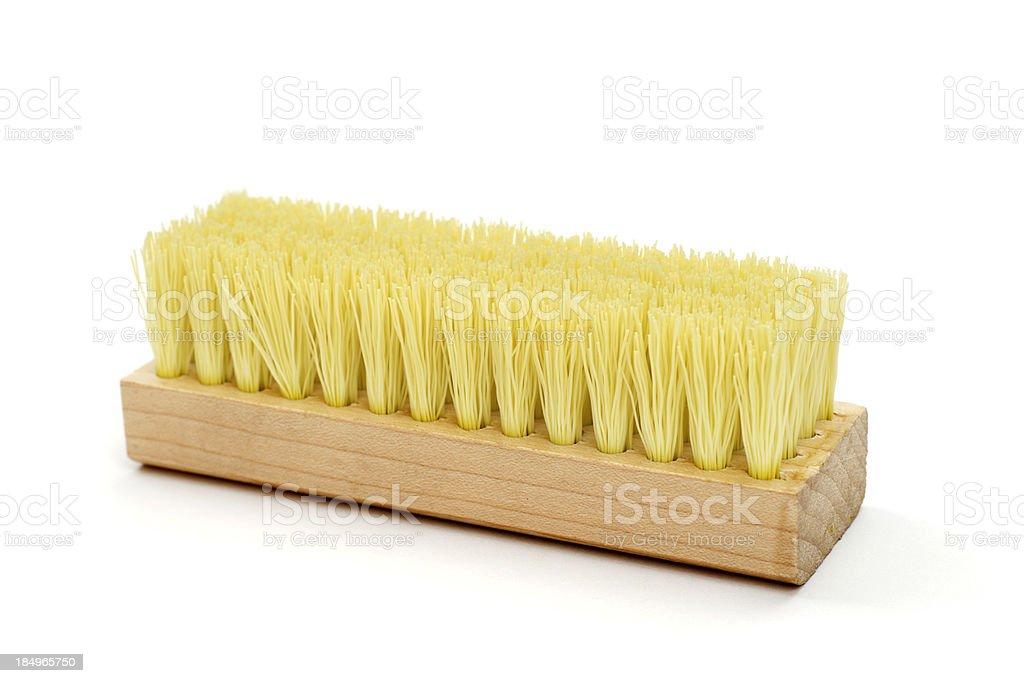 Brush Isolated on White stock photo