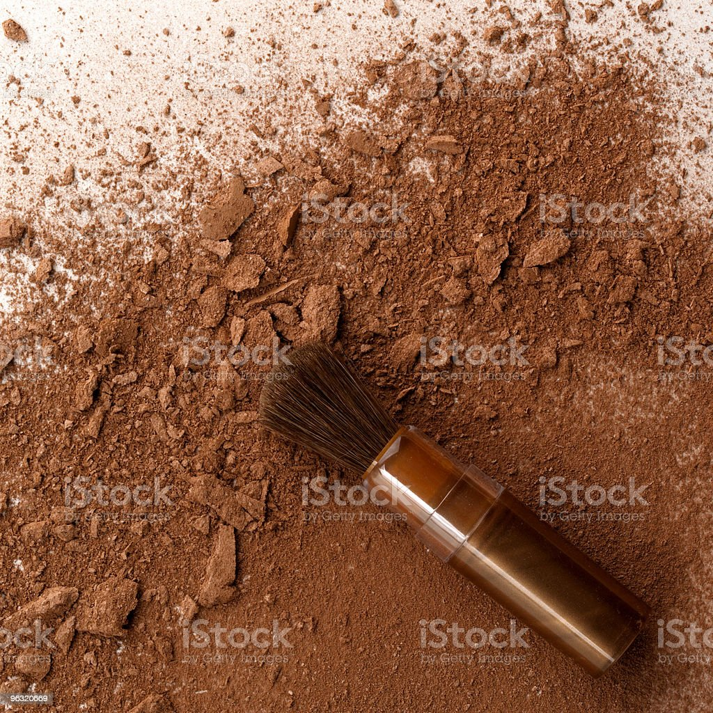 brush make-up royalty-free stock photo