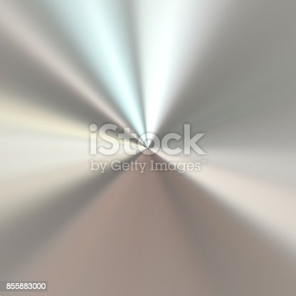 istock Brush metal texture background 855883000
