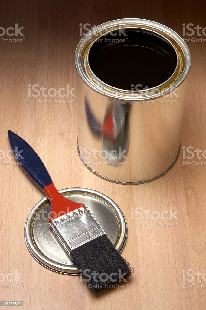 Brush & Stain royalty-free stock photo