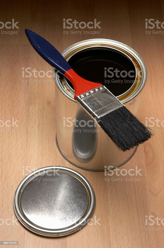 Brush & Stain royalty-free stock photo