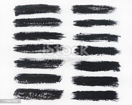 istock Brush stroke backgrounds 1159048921