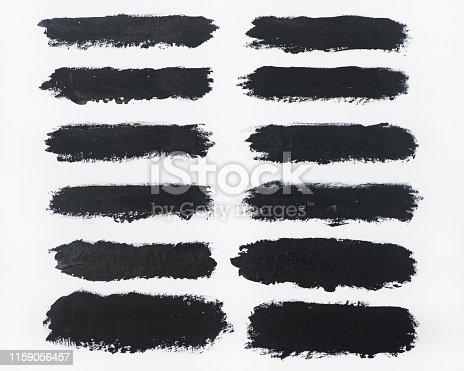 istock Brush stroke backgrounds 1159056457