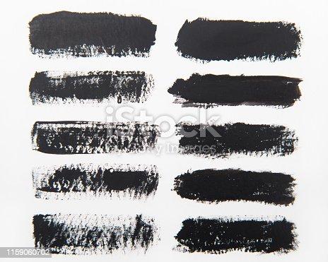 istock Brush stroke backgrounds 1159060702