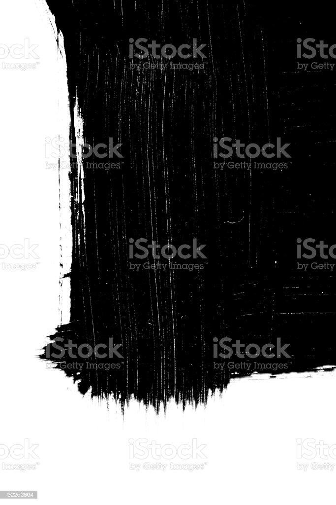 Brush stroke royalty-free stock photo