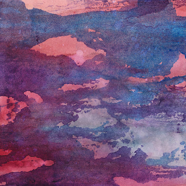 Brush strokes of pink and blue colors with texture圖像檔