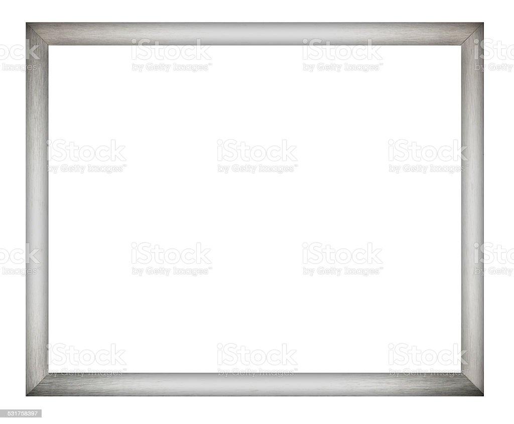 Brushed Aluminium Picture Frame foto
