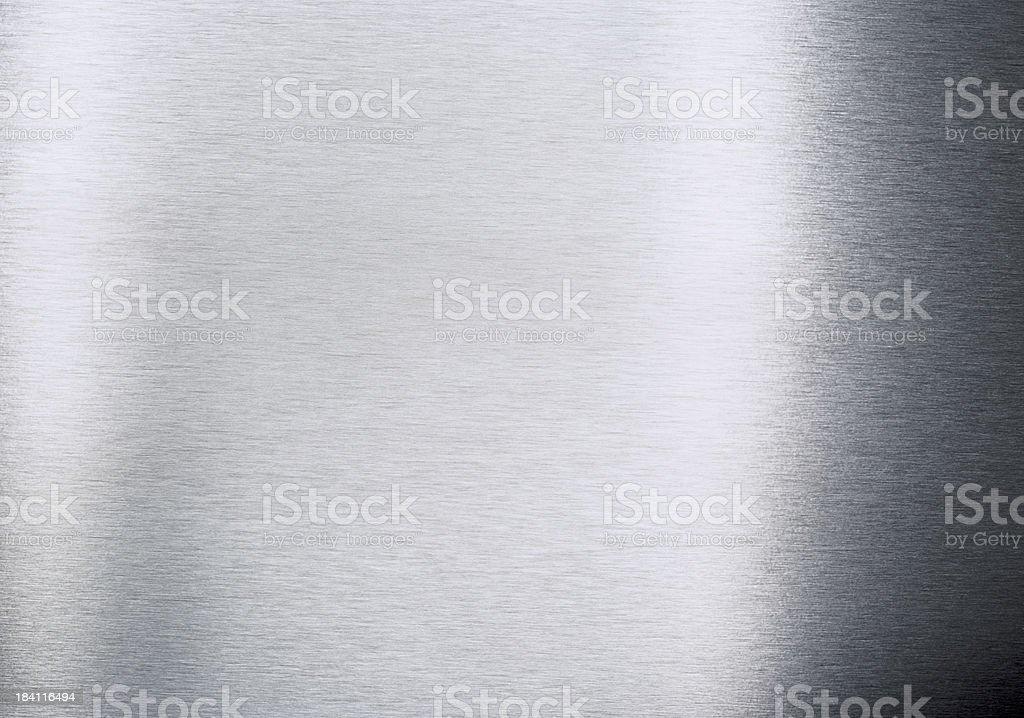 Brushed aluminium texture XXL royalty-free stock photo