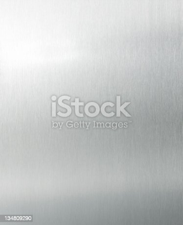 Brushed aluminium texture with light effects