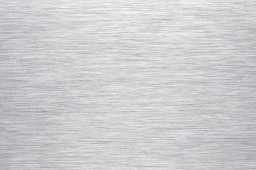 Brushed aluminum background or texture