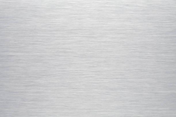 Brushed aluminum background or texture Brushed aluminum background or texture metal stock pictures, royalty-free photos & images