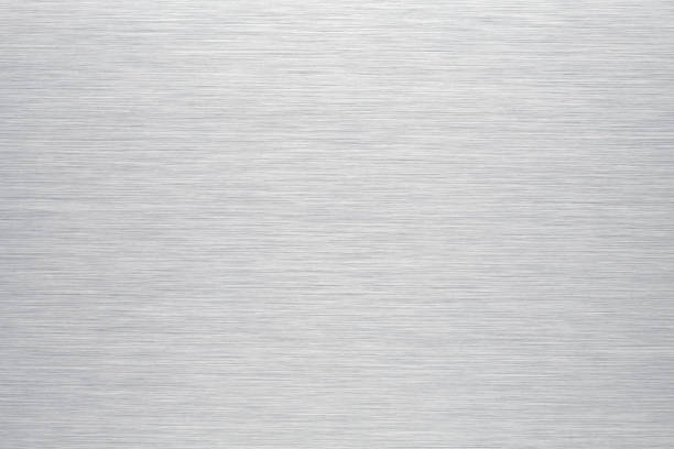 brushed aluminum background or texture - steel stock photos and pictures