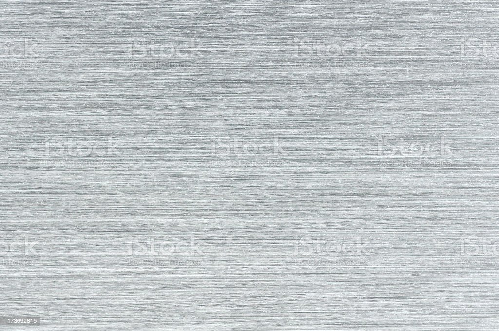 Brushed Aluminum Texture royalty-free stock photo