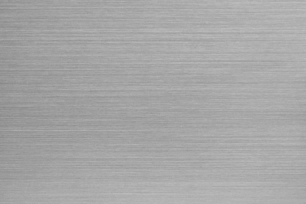 Brushed aluminum texture stock photo