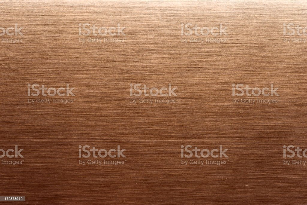 Brushed Copper stock photo