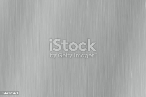 istock Brushed gray metal texture 944372474