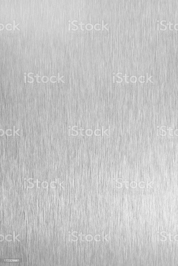 Brushed metal abstract background stock photo
