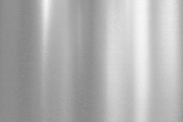 brushed metal background - steel stock photos and pictures