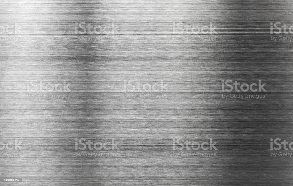 Brushed metal background royalty-free stock photo