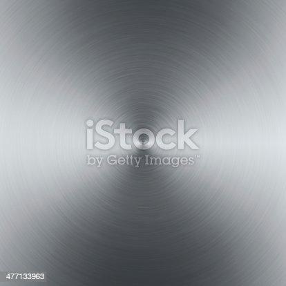 istock Brushed Metal 477133963