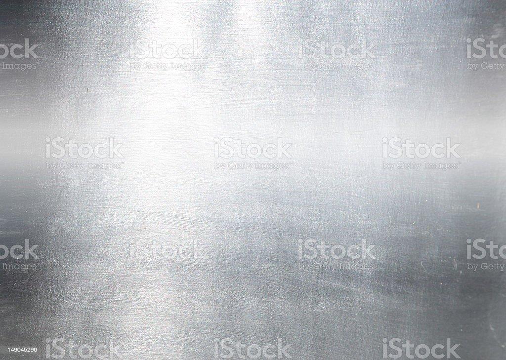 Placa de metal cepillada - foto de stock