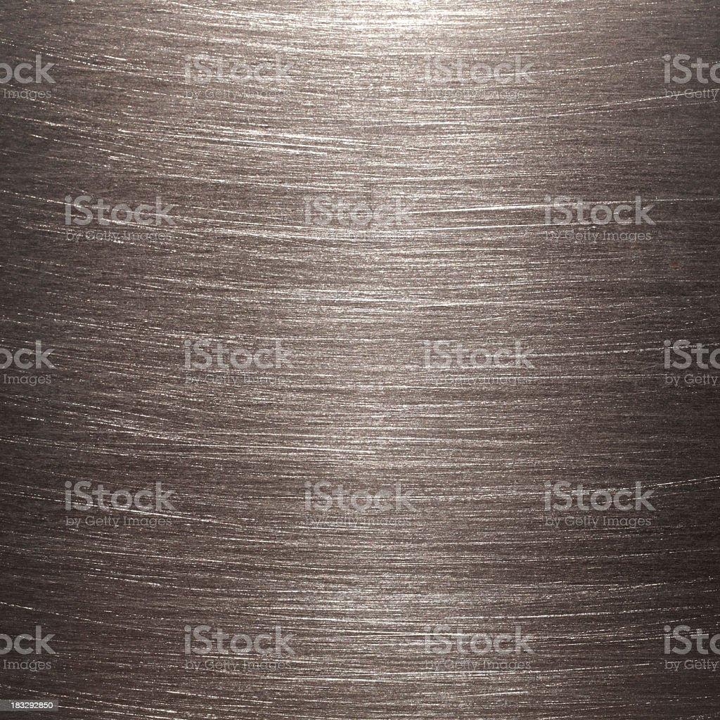 brushed metal surface royalty-free stock photo
