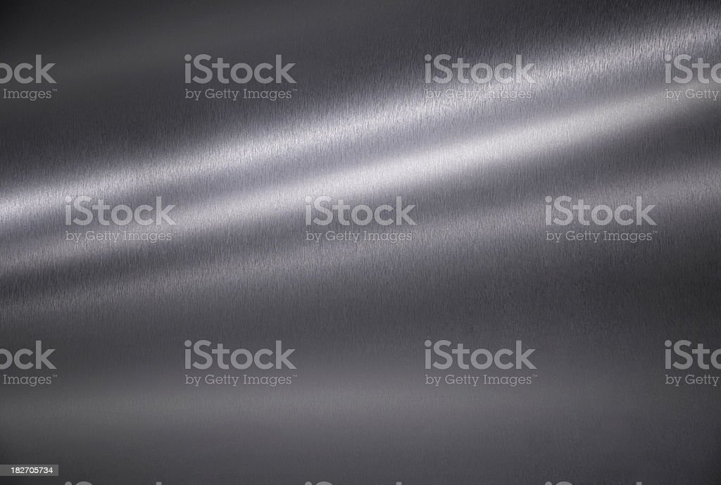 Brushed metal texture abstract background stock photo
