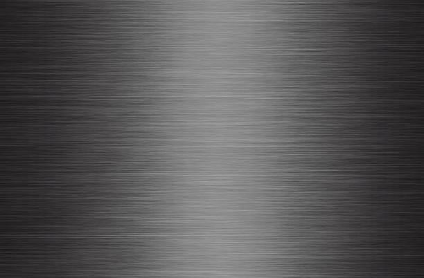브러쉬드 메탈 애니메이션 추상적인 배경 - 솔질 뉴스 사진 이미지