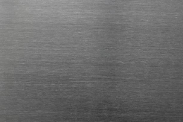 Gebürstetes Metall Textur Hintergrund – Foto