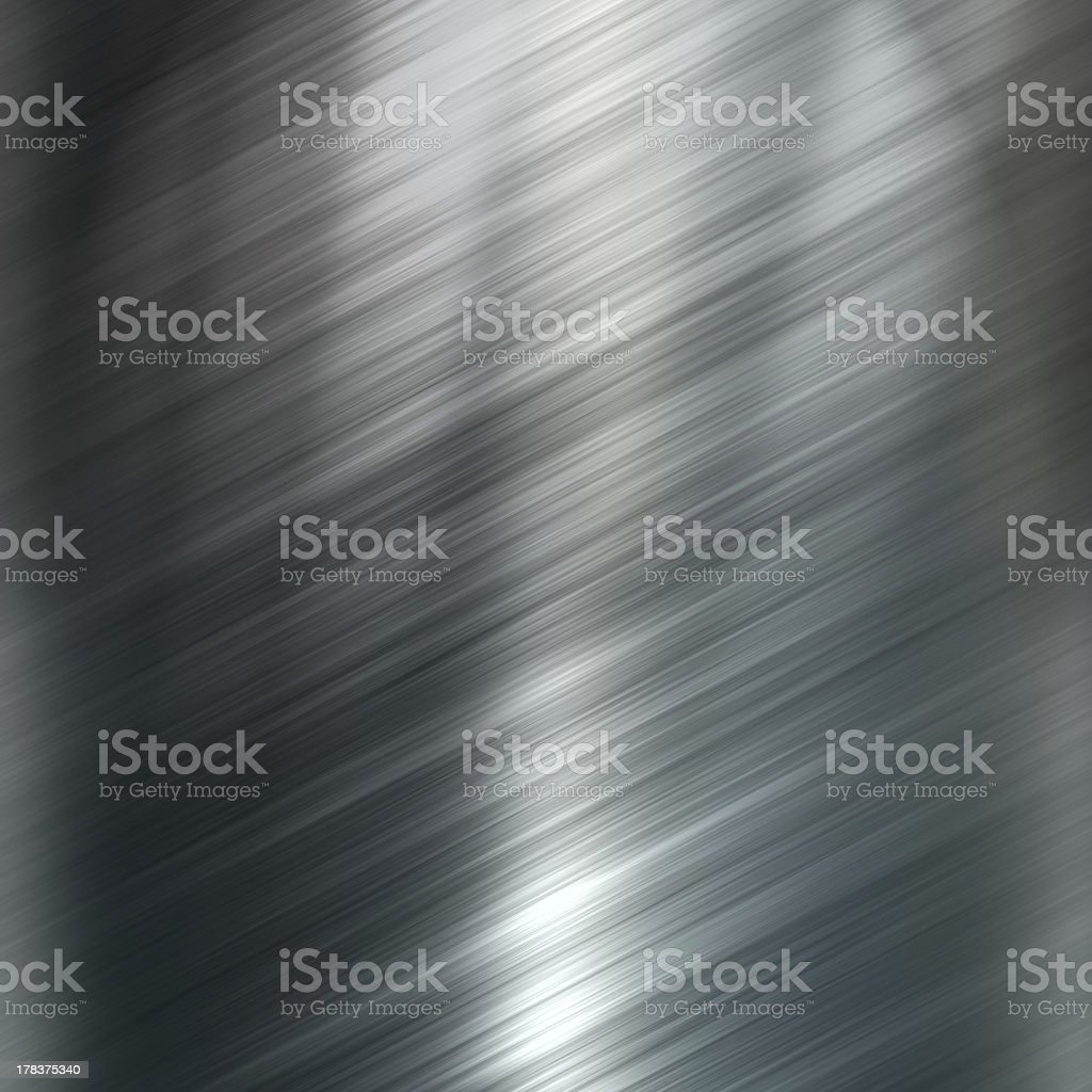 Brushed metal texture background stock photo