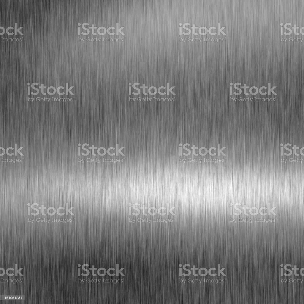 Brushed metal texture. stock photo