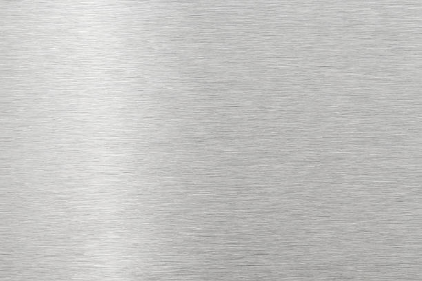 brushed metal texture - steel stock photos and pictures