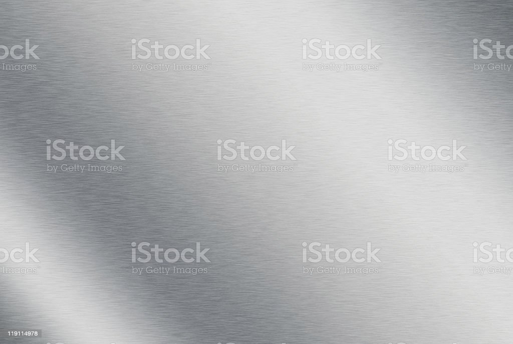 Brushed metal textured back ground stock photo